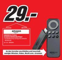 [Lokal Mediamarkt Reutlingen ab 10.11] Amazon Fire TV Stick für 29,-€