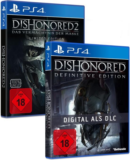 [Gamestop+ Level 2] Dishonored 2 Limited Edition für Xbox One und PS4 für 48,99€ / (3,99€ Bei Abgabe von 2 Spielen)
