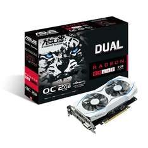 [NB]ASUS DUAL-RX460-O2G, 2GB GDDR5, 1x HDMI, 1x DisplayPort, 1x DVI
