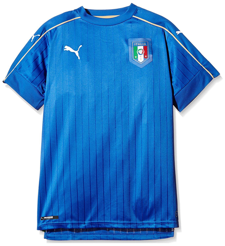 Amazon - PUMA Kinder Trikot FIGC Italia Home Shirt Replica - Gr. 176 für 10,28€