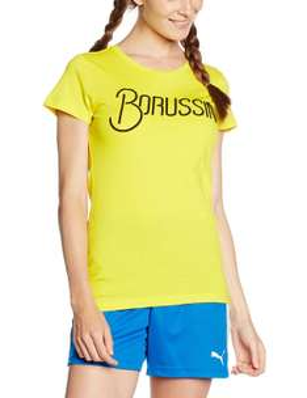Puma Damen Bvb Fan Tee T-Shirt Gr. S und M ab 4,50€