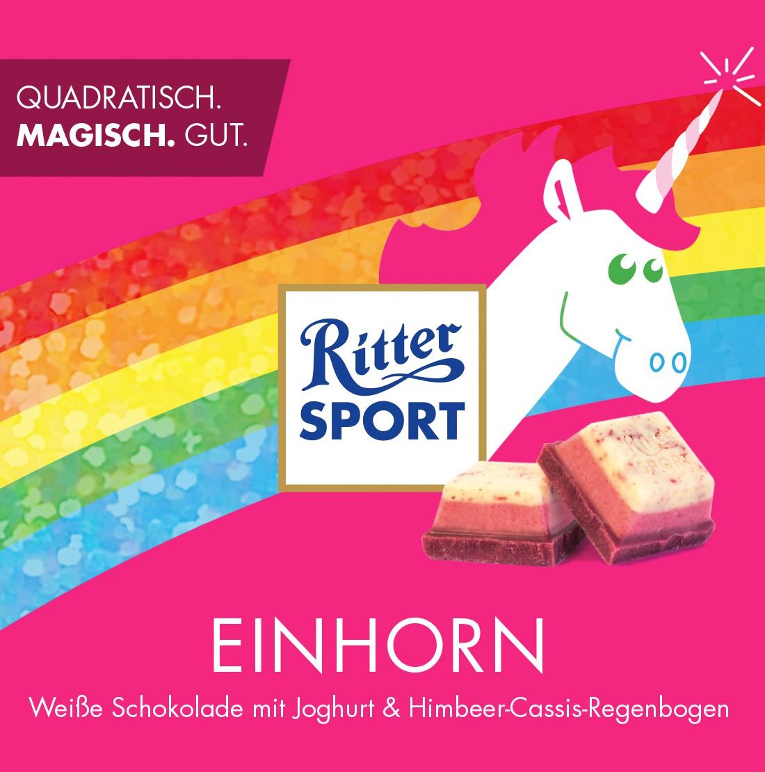 Ritter Sport Einhorn ab 14.11. um 15 Uhr wieder verfügbar - na okay, mit 25h Verspätung