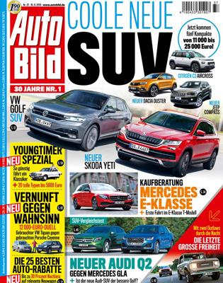 Auto Bild  Schnupperabo für 3 Monate (13 Ausgaben)