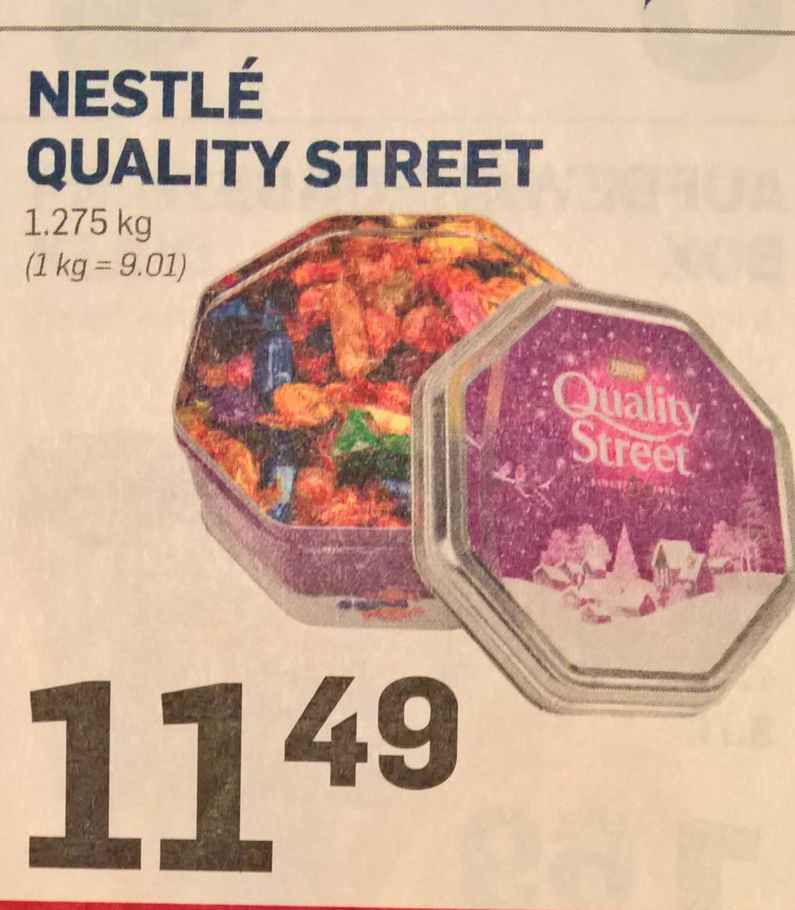 [lokal ACTION Filialen] Quality Street 1275g Dose
