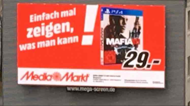 [Lokal] Media Markt Wuppertal - Mafia III PS4