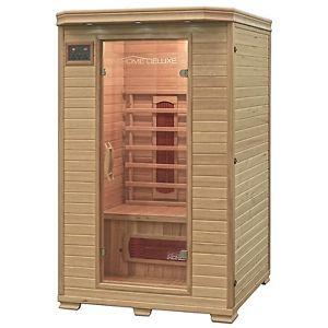 Home Deluxe Infrarotkabine Infrarotsauna Sauna Infrarot Massivholz bei Ebay 689,90€