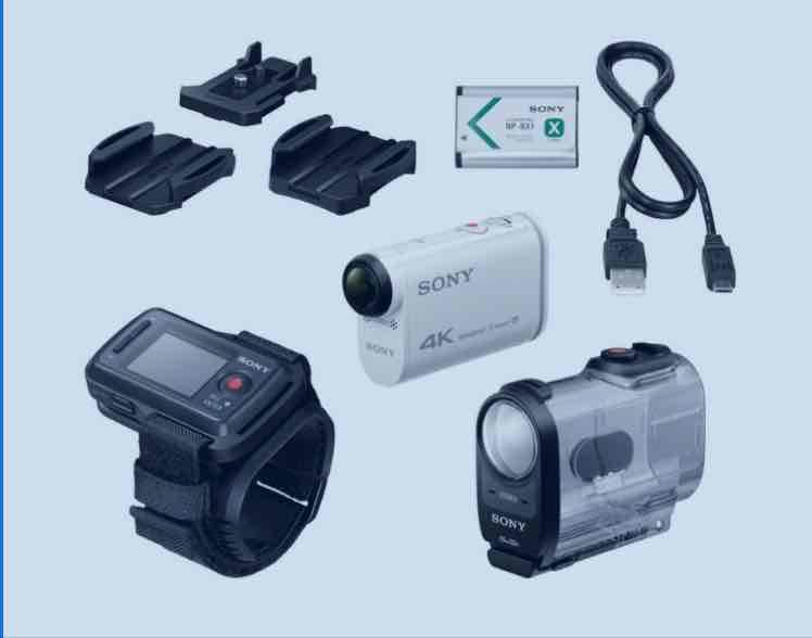 @ebay: Sony FDR-AX 1000VR 4K Actioncamcorder mit Fernbedienung