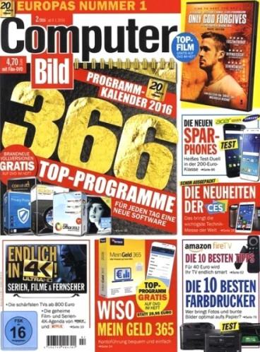 Computer Bild mit DVD im Jahresabo (26 Ausgaben) für effektiv 30€ durch 100€ Geldprämie + weiteren Gratismonat