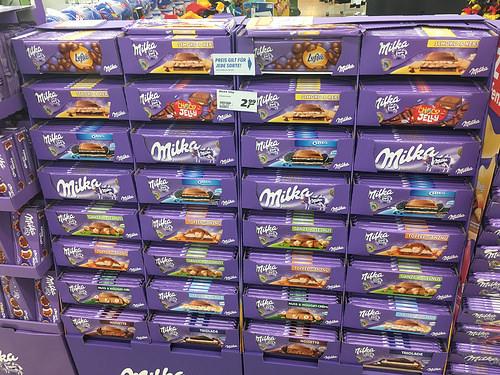 [WEZ] Milka Schokolade 300g für 1,46 pro Stück beim Kauf von 3 und Coupon