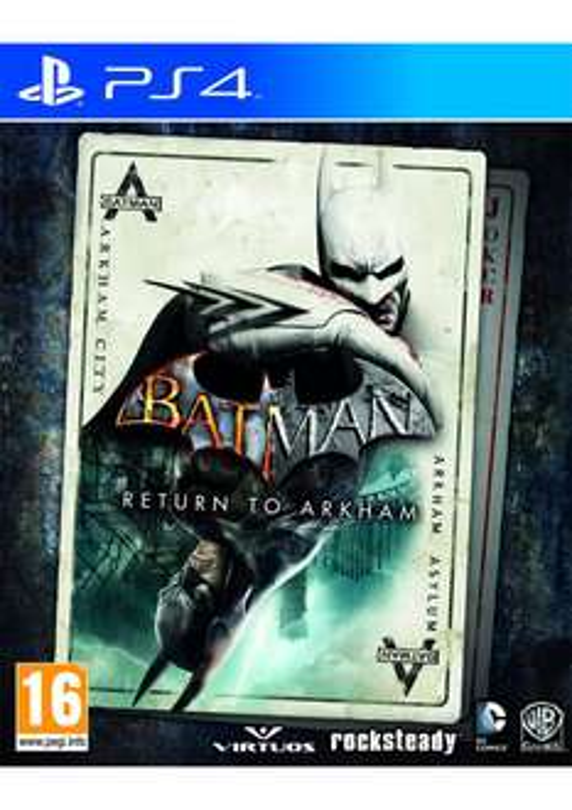 Batman: Return to Arkham (Arkham Asylum + Arkham City) (PS4] für 24,66€ [Simplygames]