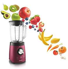 [Amazon Prime] Philips HR2196/38 Standmixer Smoothietaste, Puls / IceCrush, 900 W, 2 L