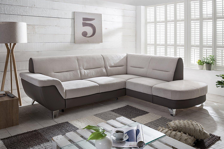 Sofaecke grau mit Bettfunktion von Cotta für 391 statt ca. 1100 € [Amazon]