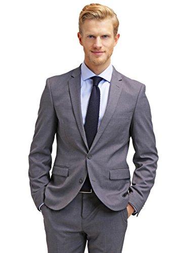 [Amazon] Pier One Anzug Grau für 89 Euro (über 30% Ersparnis) Größen: 46-54