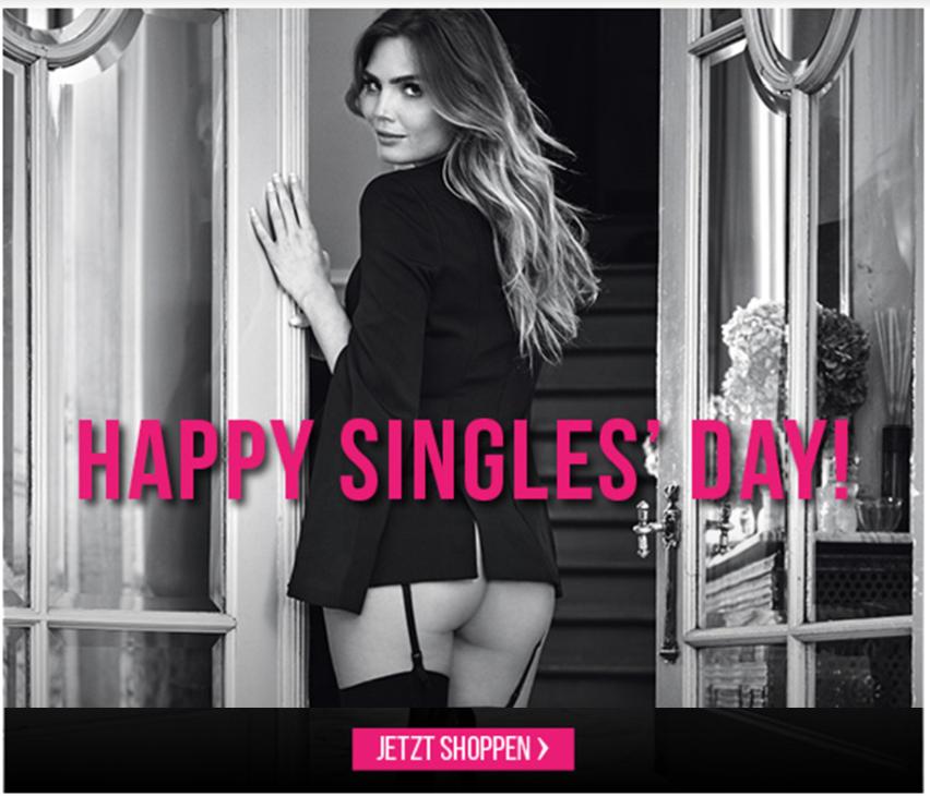 Happy Singles' Day: 22% Rabatt auf ALLES bei Hunkemöller (auch für Paare)