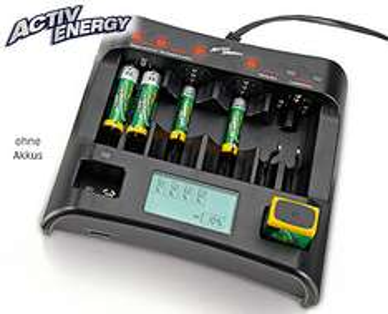 ACTIV ENERGY® Profi-Schnell-Ladegerät