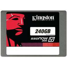 Kingston SSDNow V300 240GB für 59,99 € beim SATURN Ebay Shop!