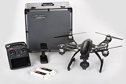 Yuneec Typhoon Q500 4K für 666€ bei Amazon - Drohne mit 2. Akku mit Steadygrip und Transportkoffer *UPDATE*