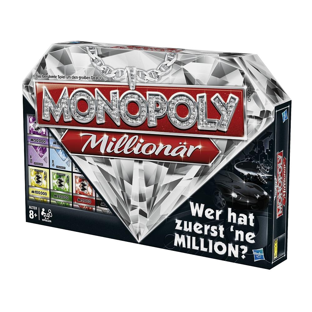 Monopoly Millionär für 14,98 € bei Abholung [ToysRus] und 17,93 € mit Versand (+Lego Star Wars Adventskalender Deal)