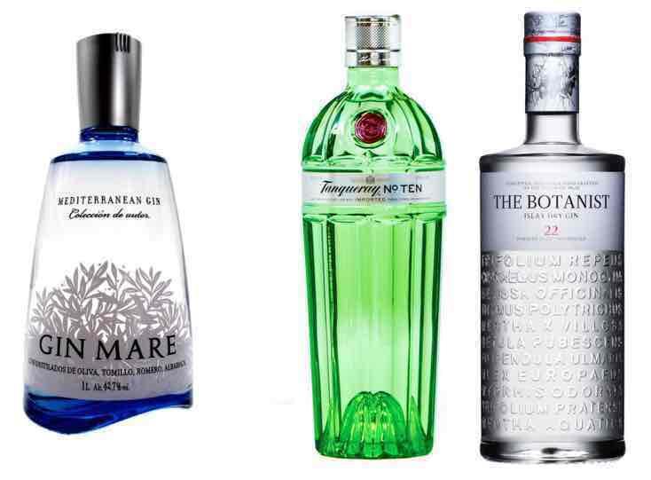 [Onlineshop Helgoland] Gin Mare, Botanist Gin und Tanqueray 10 jeweils Literflaschen zum Bestpreis