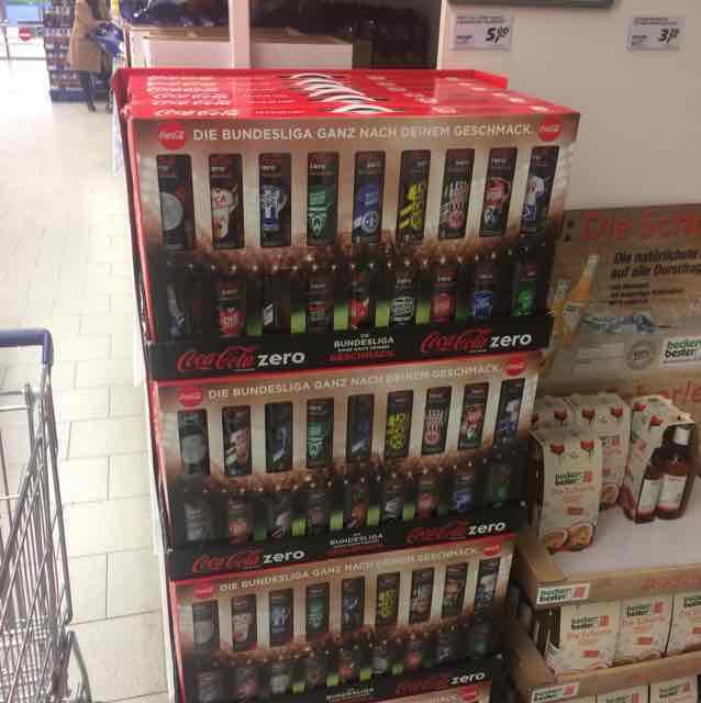 [Real in Oststeinbek] Coca Cola Zero 18x0.33l für 5€ also 0.28€ für die 0.33l Dose