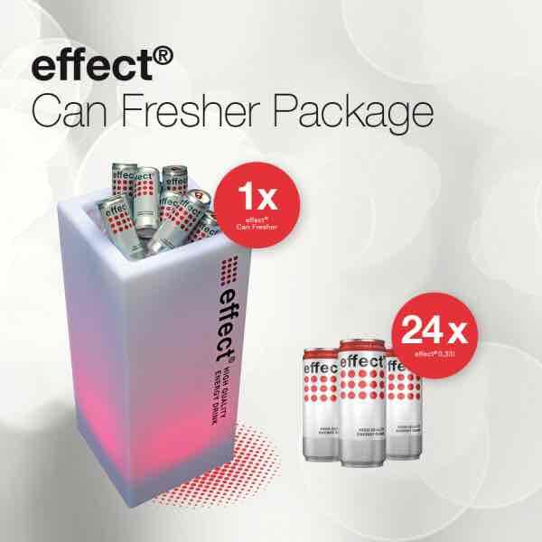 Effect Dosen-kühler + 24 dosen für 39€