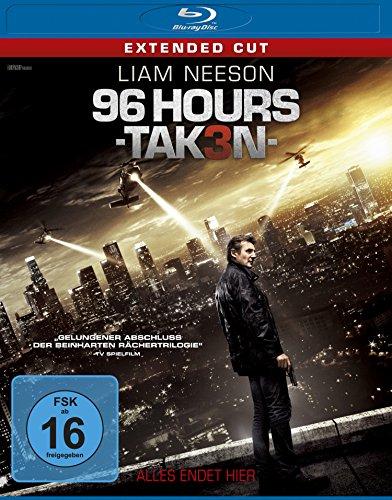 96 Hours - Taken 3 - Extended Cut [Blu-ray] für 4,11 € @ amazon.de > Prime