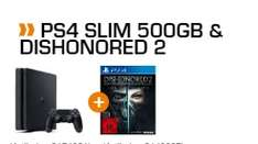 PS4 Slim 500GB + Dishonored 2 für 249€ [Saturn]
