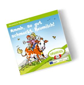 [GRATIS] Kinderbücher und Broschüren von Heumilch