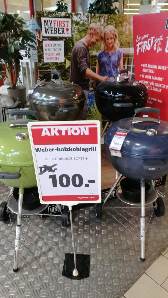 [Hagebau Wolfsburg] Weber Original Kettle 47cm