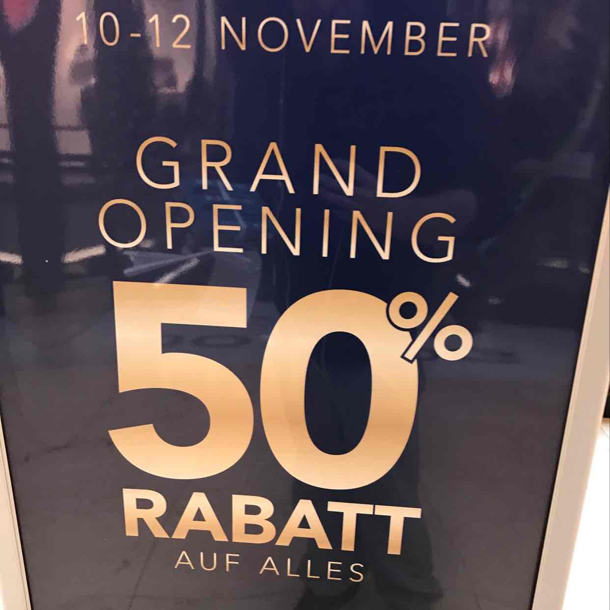 50% Auf Alles Bei Dressmann Lokal HH Elbe Einkaufszentrum