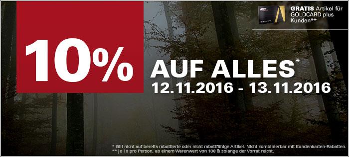 ASMC.de - 10% Rabatt auf alles 12-13.11.2016