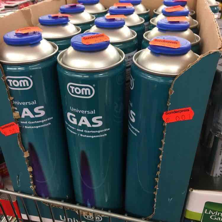 [Lokal - Trier] Universal Gaskartusche 600 ml Netto MD