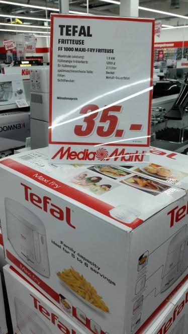 Tefal FF1000 Maxi-Fry 35€ Lokal MM Delmenhorst
