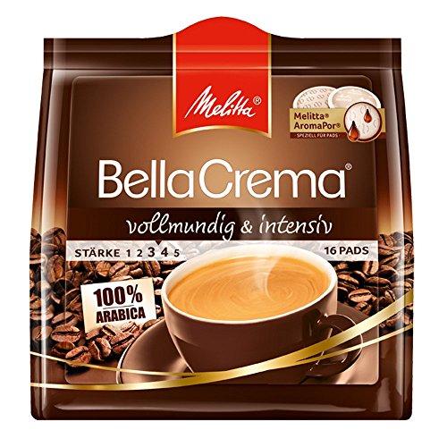 """[Amazon Sparabo + Coupon] Melitta Kaffepads 10er Pack (10 x 16 Pads) """"vollmundig und intensiv"""" oder """"mild und harmonisch"""" für je 11,11€"""