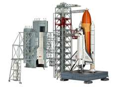 Revell 04911 - Launch Tower & Space Shuttle with Booster Rockets, Limited Edition; 85,99 € @duo-shop.de