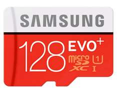 Samsung Evo Plus 128GB microSDXC für 30 Euro (Amazon.de)