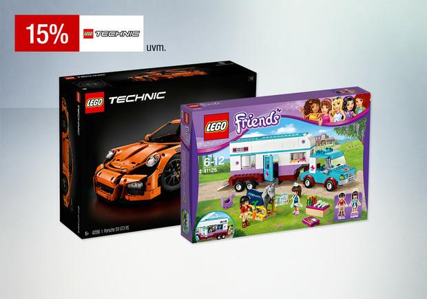 Galeria Sonntags-Aktion: 15% Rabatt auf ausgewählte LEGO Artikel