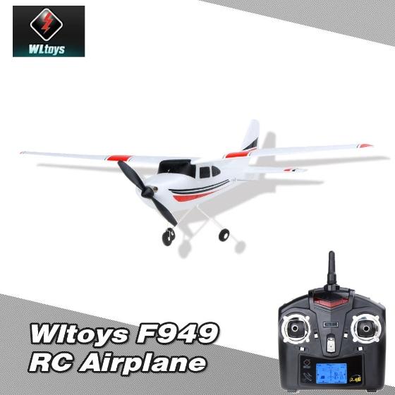 Wltoys F949 2.4G RC Modellflugzeug (Cessna 182)