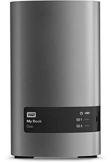 Western Digital My Book Duo 4TB externe Festplatte für 202,91€ [Amazon.es]