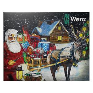 [Real] Wera Adventskalender 2016 mit Werkzeug für 41,99 €