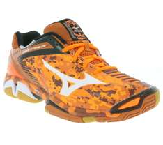 [outlet46] Handballschuhe - Mizuno wave stealth 3 orange