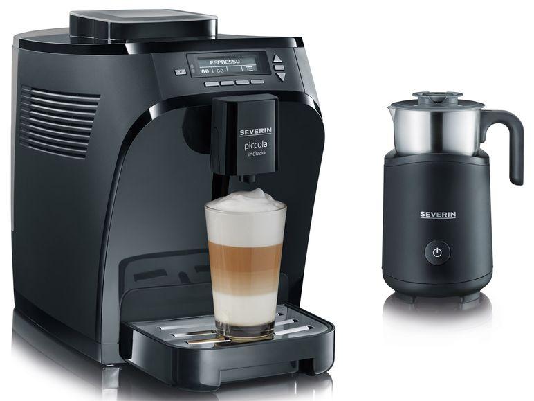 [LIDL] SEVERIN Kaffeevollautomat Piccola Induzio + Induktions-Milchaufschäumer SM9495 für 253,95€