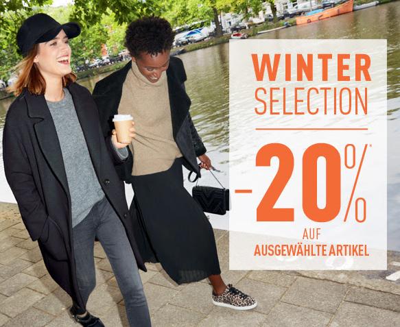 20% Rabatt auf Winter Essentials (im Store und online) bei Pimkie
