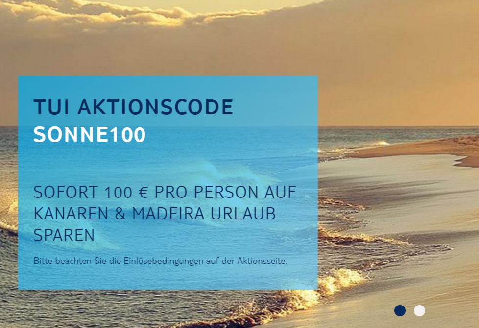 Kanaren und Madeira ab 349,- Euro pro Person für 7 Tage von Nov.16 - Apr.17 mit Gutscheincode SONNE100