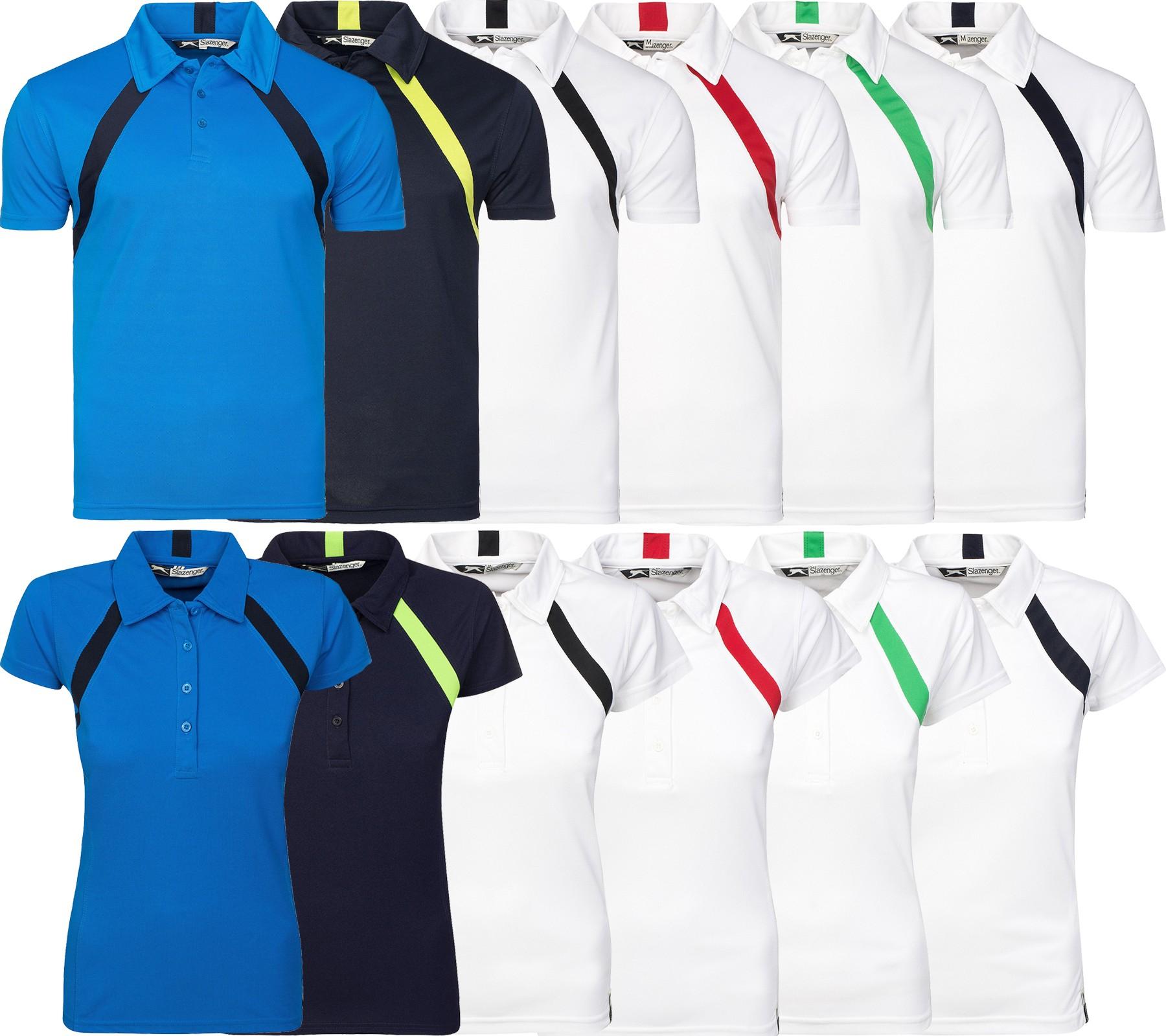 [Outlet46] Slazenger Lob Cool Fit Polo Sportshirt in 6 Farben für Männer & Frauen (Gr. S-3XL) für 1,99€ inkl. Versand