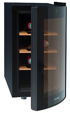 H. Koenig AGE8WV für 106,89€- Weinkühlschrank für 8 Flaschen bei Brands4Friends