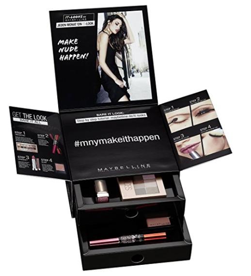 Get the Look: Maybelline Look Boxen mit 4 (+1) Kosmetikartikeln plus gratis Teint-Produkt für 19,95€ mit gratis Versand statt ca. 30€ *UPDATE*