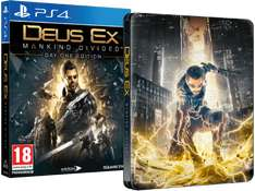 (MediaMarkt.at) Deus Ex: Mankind Divided + Steelbook (PS4/Xbox One) für 35€