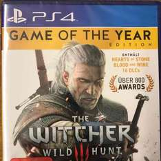 Lokal MM Alexa Berlin PS4 The Witcher Wild Hunt - Game of the Year
