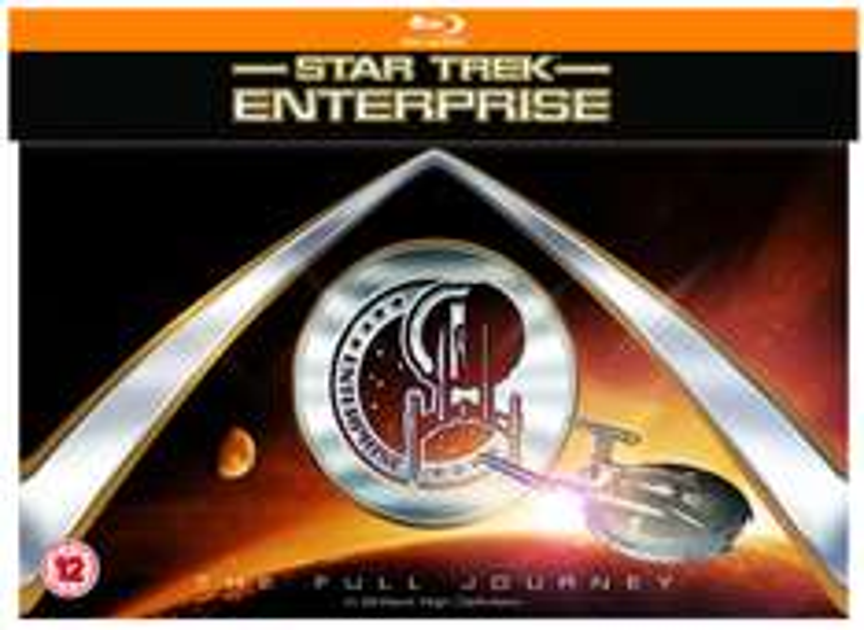 Star Trek Enterprise: The Full Journey (24 Blurays) (dt. Tonspur) für 44,13€ [Amazon.co.uk]